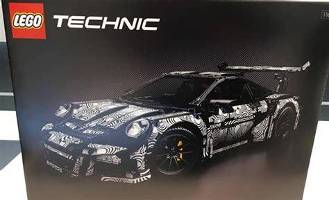 lego technic porsche 911 lego unveils the stunning 42056 technic porsche 911 gt3 rs