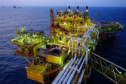 Oil Gas Offshore Gulf Mexico Platform Rig