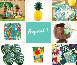 Deco Table Tropical : d coration soir e tropicale les conseils des pros ~ Teatrodelosmanantiales.com Idées de Décoration