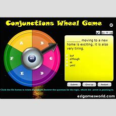 "Conjunction Wheel Game  ""too Cool For School""  Pinterest  Wheels, Wheel Of Fortune And Grammar"