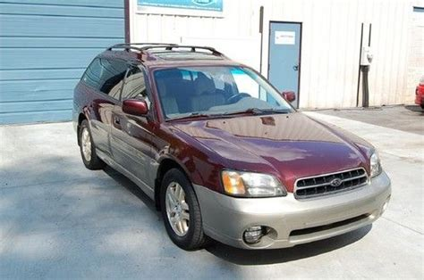 2001 Subaru Outback Mpg by Purchase Used Warranty 2001 Subaru Outback Awd Limited