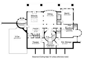 basement home floor plans vinius 8079 5 bedrooms and 4 baths the house designers