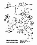 Jill Jack Nursery Coloring Rhyme Rhymes Pages Goose Mother Quiz Bluebonkers Sheets Printable Clipart Crafts Gators Florida Preschool Boy Getcoloringpages sketch template