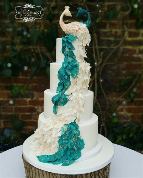 25 Best Ideas About Peacock Cake On Pinterest Peacock