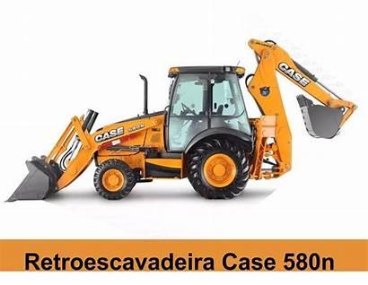 Retroescavadeira Case 580n Adesivo Etiquetas Completo Kit