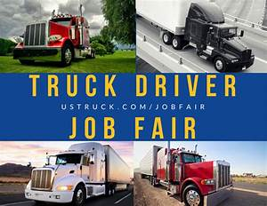 Truck Driver Job Fair