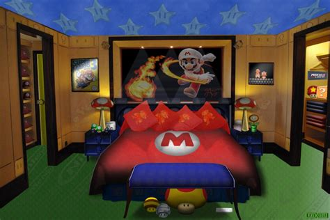 Marios Bedroom By Jayjaxon On Deviantart