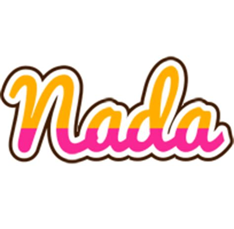 Nada Logo  Name Logo Generator  Smoothie, Summer