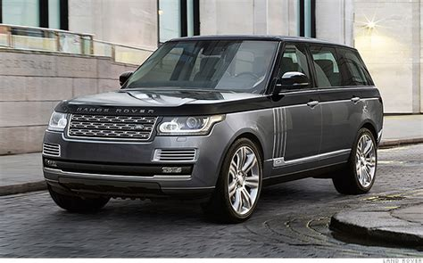 expensive range rover land rover 39 s new 200 000 suv is most expensive ever mar