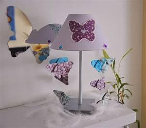 Lampe De Chevet Violet : 12 best lampe chevet petite fille images on pinterest petite fille lamps and butterflies ~ Teatrodelosmanantiales.com Idées de Décoration