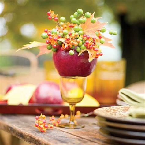 30 creative table centerpieces for thanksgiving decorating