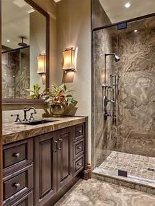 Tan Brown Granite Vanity Home Design Ideas, Pictures