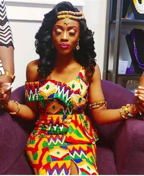 ghanaian pride 215 robe en 2019 tenue mariage coutumier africain robe en pagne africain et