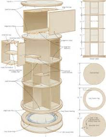 Lazy Susan Cabinet Organizer by Rotating Bookshelf Plans Plans Diy Free Download Blanket