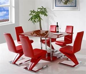 Meubles salle a manger 23 idees originales confort complet for Meuble de salle a manger avec chaise cuir rouge salle manger