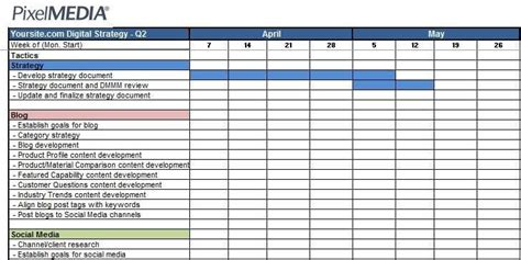 marketing campaign tracker templates word templates