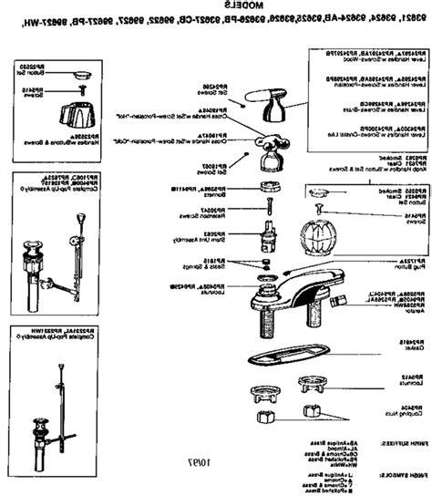 kitchen faucet parts diagram peerless faucet leaks delta repair diagram shower parts