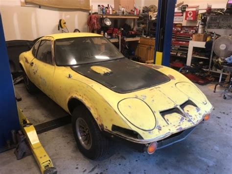 Opel Gt Parts by 1971 Opel Gt 1900 W Parts Classic Opel 1900 1971