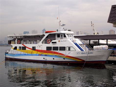 Ferry Boat Bataan To Manila by Corregidor Island The Rock Of Philippine Island Trip