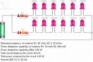 Led Connect To 120v  Diy Led Lamp