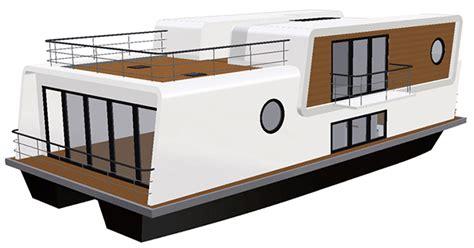 Wohnen Auf Dem Wasser by Muethos Hausboot Autarkes Wohnen Auf Dem Wasser