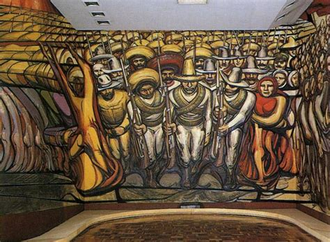 David Alfaro Siqueiros Murals by Siqueiros David Biography