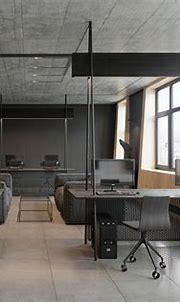 Modern office interior by Zooi design studio on Behance
