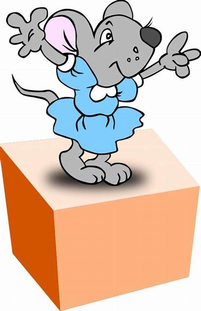 Clipart Box Cartoon Clip Cliparts Preposition Transparent