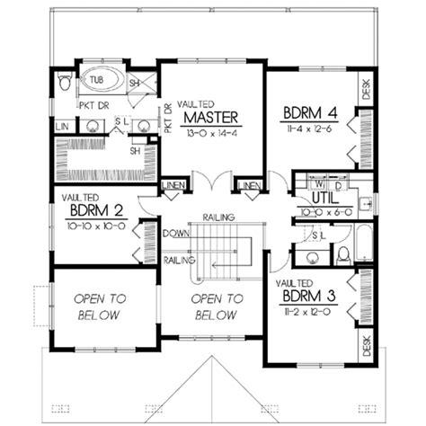 craftsman style house plan  beds  baths  sqft plan   houseplanscom
