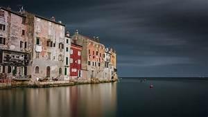 Sailing Along Istrian Coast Rovinj  Adriatic Sea  Istria