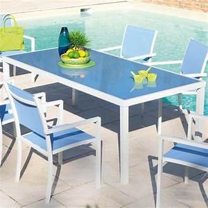 Table Et Chaise Jardin : table et chaise de jardin truffaut ~ Teatrodelosmanantiales.com Idées de Décoration