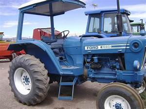 Maquinaria Agricola Industrial  Tractor Ford 6600 Pjcw