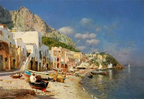 Capri Italy Rubens Santoro Italien Capri Kunst