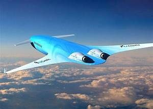 Is this the plane of the future? Stunning 'blended wing ...