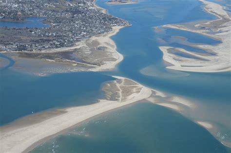 Aerial Photos Of New Breach At Lighthouse Beach, Chatham
