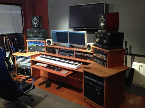 music studio desk workstation studio furniture artisan soundcrafts