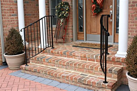 Small Stair Railing by Wrought Iron Porch Railings Stair Rails For Homes Small In