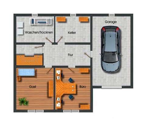 Bungalow Garage Grundrisse by Bungalow Mit Garage Grundriss Kgmaa