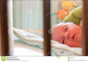 Baby Sleeping In Crib Stock Photos - Image: 13886183