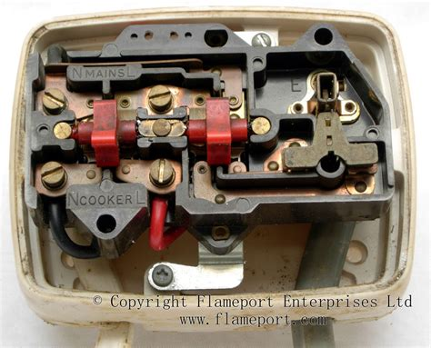 Plastic Mk Cooker Switch And A Socket Outlet