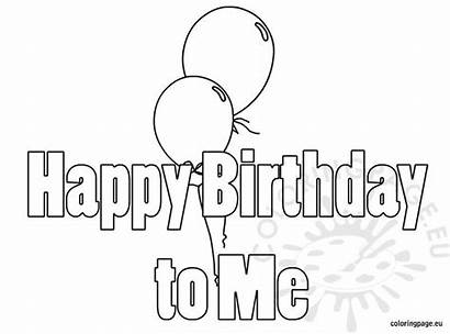 Birthday Happy Coloring Pages Printable 60th Colouring