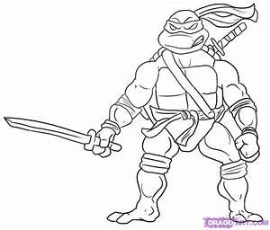 Ninja Turtle Coloring Pages - Free Printable Pictures ...