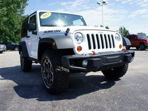 2013 Jeep Wrangler Rubicon 4x4 Rubicon 2dr Suv Suv 2 Doors
