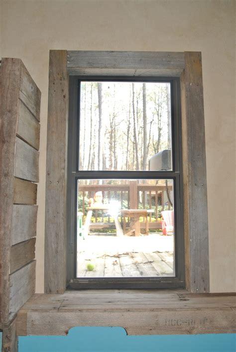 pallet window trim walls floors pinterest pallets