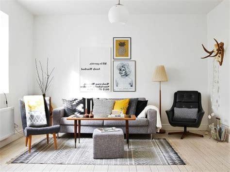 Meuble Salon Gris by Un Salon En Gris Et Blanc C Est Chic Voil 224 82 Photos Qui