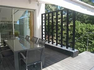 Cloison Jardin Anti Bruit : cloison exterieur rideaux de terrasse exterieur cloison ~ Edinachiropracticcenter.com Idées de Décoration