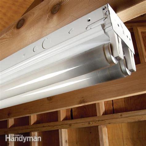 tips  replacing fluorescent bulbs  family handyman