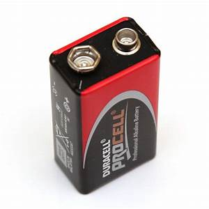 9 Volt Batterie : battery pp3 9 volt procell ~ Markanthonyermac.com Haus und Dekorationen