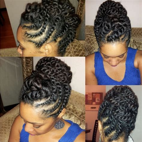 Twisted Knots Hairstyle by 15 Best Of Knot Twist Updo Hairstyles