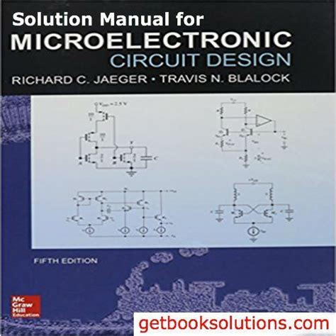 Solution Manual For Microelectronic Circuit Design